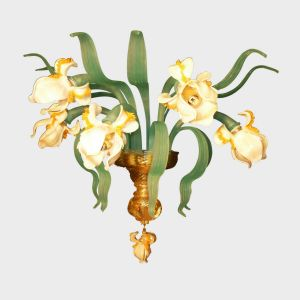 Wall Lamp White Iris APP-1-5-30343