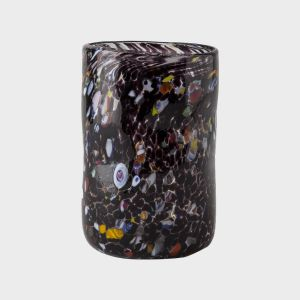 Black Venetian Glass