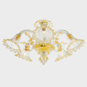 Gold Apollo Ceiling Lamp