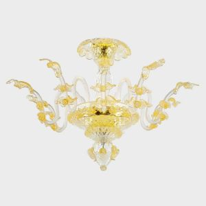 Gold Apollo with Leaves - Ceiling Lamp